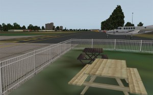 Picnic Area at Doylestown Airport